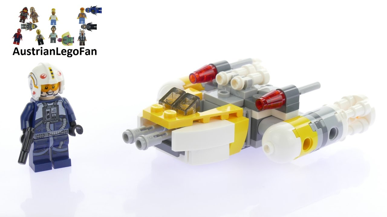 How To Build A Lego Star Wars Y Wing