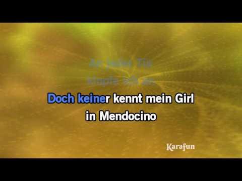 Karaoke Mendocino - Michael Holm *