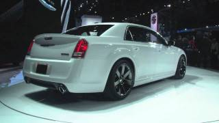 2012 Chrysler 300 SRT8 at the 2011 New York Auto Show