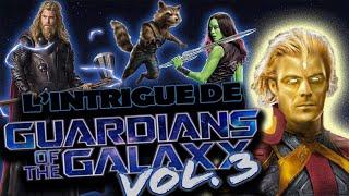 L'intrigue des GARDIENS de la GALAXIE 3 ?