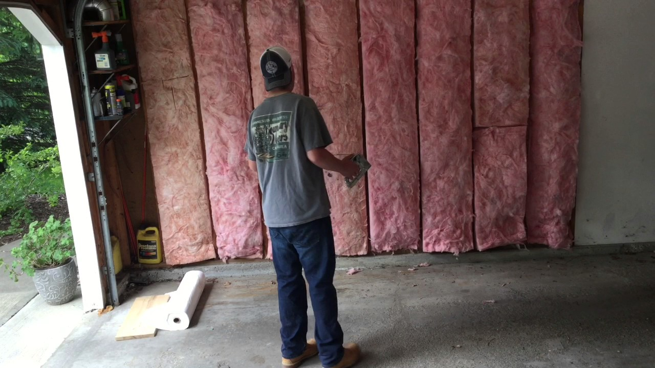 How To Insulate Then Put Up Vapor Barrier And Drywall