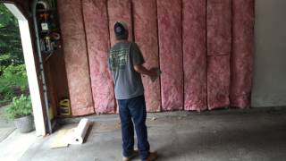 How To Insulate, Then Put Up Vapor Barrier And Drywall
