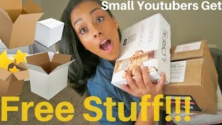 How to get FREE products to Review | CurlObsessed GG