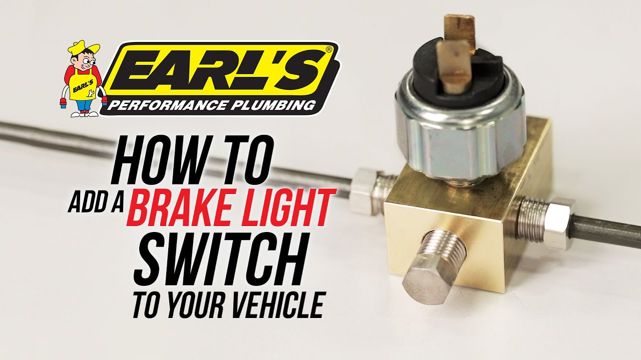 How To Add A Brake Light Switch To Your Vehicle Youtube