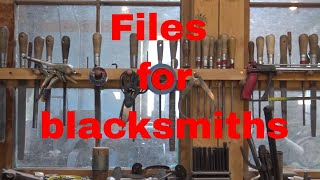 Hand files for blacksmithing and metal work