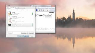 camStudio 2.7 Overview