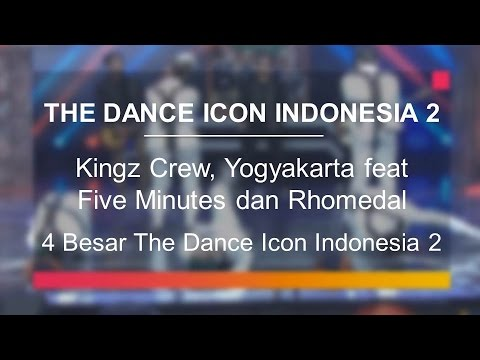 Kingz Crew, Yogyakarta feat Five Minutes dan Rhomedal (4 Besar The Dance Icon Indonesia)