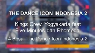 Download lagu Kingz Crew, Yogyakarta feat Five Minutes dan Rhomedal (4 Besar The Dance Icon Indonesia)