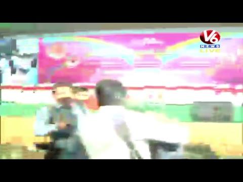 KTR Live from Nagole   Bhongir Parliamentary Constituency   V6 News