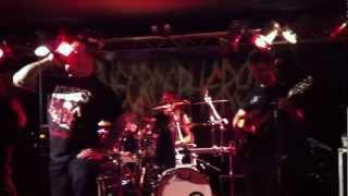Necrosphere - Fathomless live @ Vortex Siegen 24.02.2012