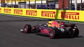 F1 2017 Spa GP Highlights Career Mode