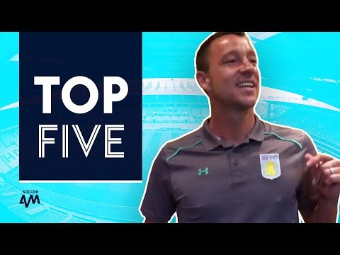 John Terry sings Stand By Me?! 🎵 Top 5 Footballer Initiation Songs!