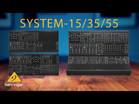 Introducing the Behringer SYSTEM-15/35/55