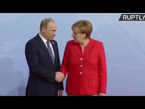 G20 leaders gathering for summit in Hamburg (Streamed live)
