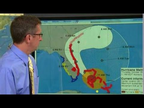 National Hurricane Center: Matthew following 'awful' track