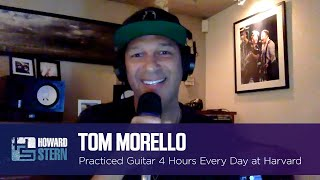 Tom Morello Practiced Guitar 4 Hours Every Day at Harvard