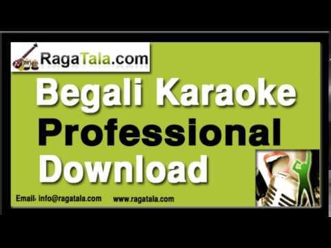 Aguner parashmani - Bengali Karaoke - Hemant Mukherjee