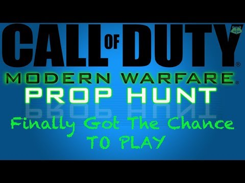 Call Of Duty Modern Warfare Remastered - Prop Hunt (Finally Got A Chance To Play)