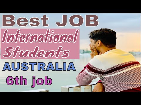 My 6th Job In Australia | HIGH PAYING PART TIME JOBS FOR INTERNATIONAL STUDENTS IN AUSTRALIA