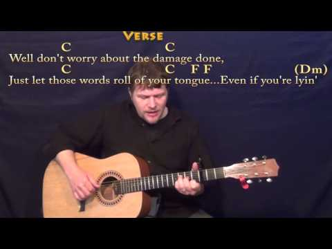 Say You Do (Dierks Bentley) Fingerstyle Guitar Cover Lesson with Chords/Lyrics- Capo 3rd Fret