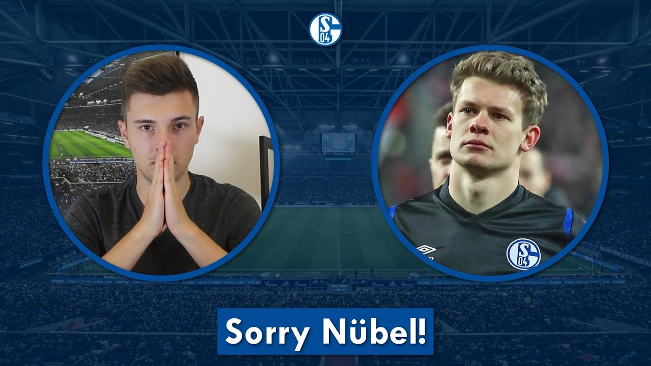 Sorry Nübel - Mach's gut!   THIELEs Schalker