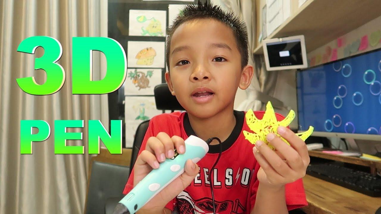 CÂY BÚT 3D ĐẦU TIÊN CỦA MÌNH | Mở hộp – MY FIRST 3D PEN | Unbox