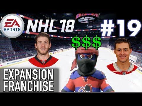 "NHL 18 Expansion Franchise #19 ""Free Agency"""