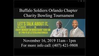 Orlando Buffalo Soldiers Charity Bowling Tournament 2019