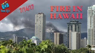 Fire at Marco Polo Condo in Hawaii - July 14, 2017