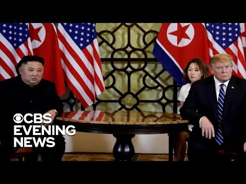 Trump's summit with Kim Jong Un ends early