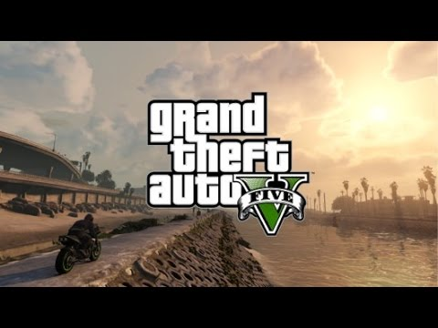 GTA 5 Online - Motor Cycle Jumps, Titanic, Voyage To Nowhere, Cops & Robbers, Lots Of Music