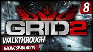 GRID 2 Walkthrough Gameplay - PART 8   WSR Face Off (Chevrolet Camaro) (PC/XBOX360/PS3)
