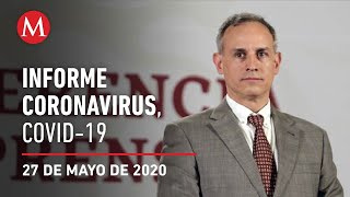 Informe diario por coronavirus en México, 27 de mayo de 2020