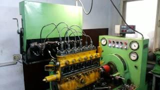 Ремонт ТНВД судового дизеля SKL NVD 26/20. Вес насоса - 145 кг.