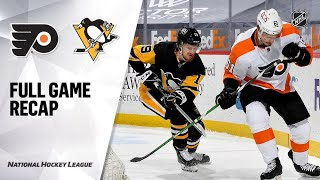 Philadelphia Flyers vs Pittsburgh Penguins | Mar.06, 2021 | Game Highlights | NHL 2021 | Обзор матча