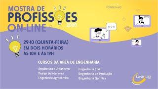 MOSTRA DE PROFISSÕES 2020 | CURSOS DA ÁREA DE ENGENHARIA