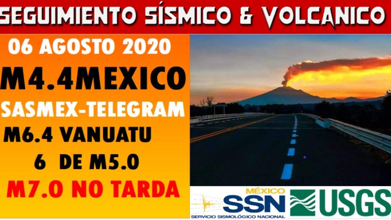 🔴🔴M4.4 MEXICO--M6.4 Y M5 EN EL MUNDO // M7+ NO TARDA // CENAPRED- SSN- USGS 🔴🔴