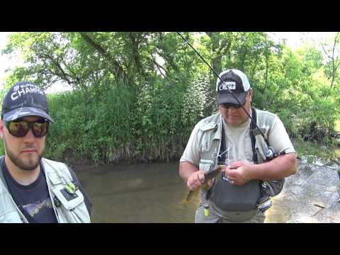 Wisconsin Trout Fishing - 6/9/2017