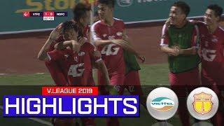 Viettel thắng Nam Định nhờ pha lập công duy nhất của Bùi Tiến Dũng | On Sports