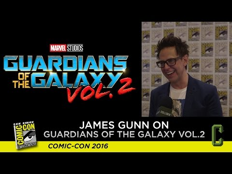 James Gunn on 'Guardians of the Galaxy Vol. 2' and Baby Groot - San Diego Comic Con 2016