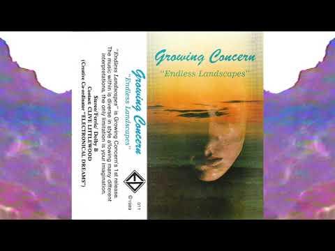 Growing Concern – Endless Landscapes (Full Album Cassette)