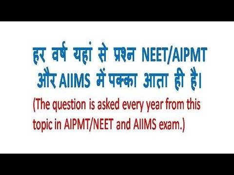 Plant Morphology for NEET and AIIMS (PLACENTATION)