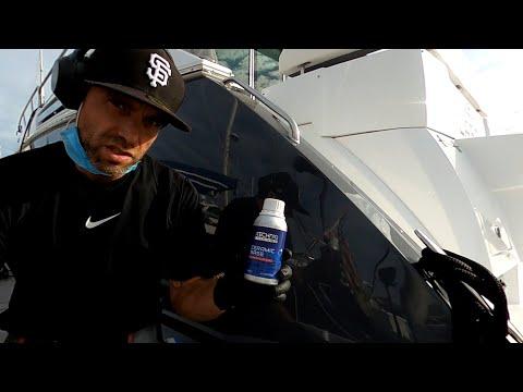 How I Apply A Ceramic Coating To A Boat | Gtechniq Marine Base & Top + Ceramic Pro Marine
