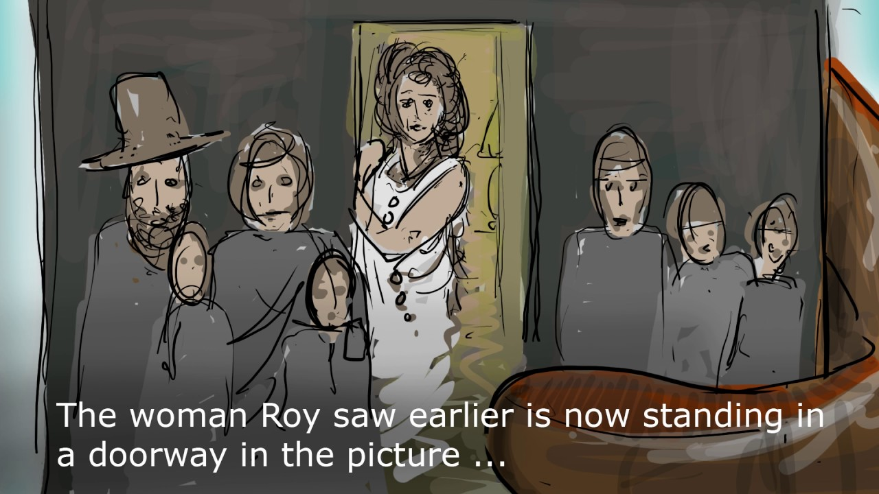 Escape from Mill Station opening cinematic (storyboard no