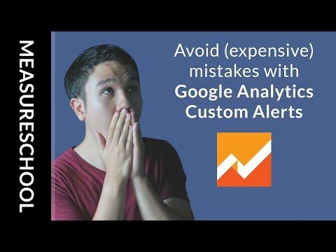 How to Create Custom Alerts in Google Analytics for Websites Breakdown Errors