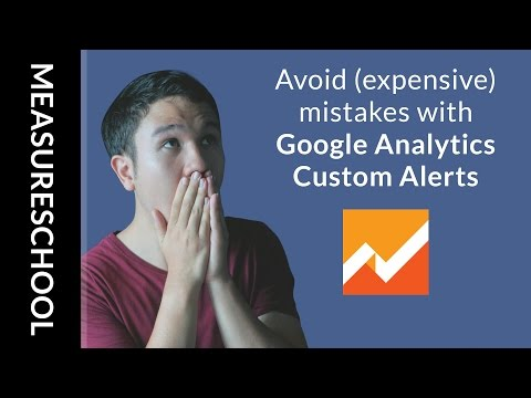 How to Create Custom Alerts in Google Analytics for Websites Breakdown Errors