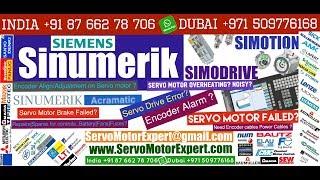 Siemens Sinumerik Hinumerik CNC Heidenhain motor encoder Adjustment,Servo Motor fault codes Resolver