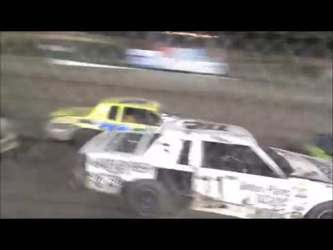 RPM Speedway Hays, Kansas IMCA Hobby Stocks A Feature 8-13-16