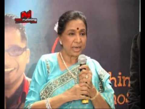 Asha Bhosle at Sapne Suhane
