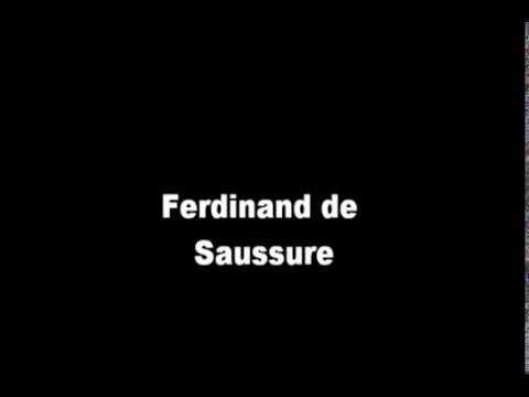 Ferdinand De Saussure Semiótica